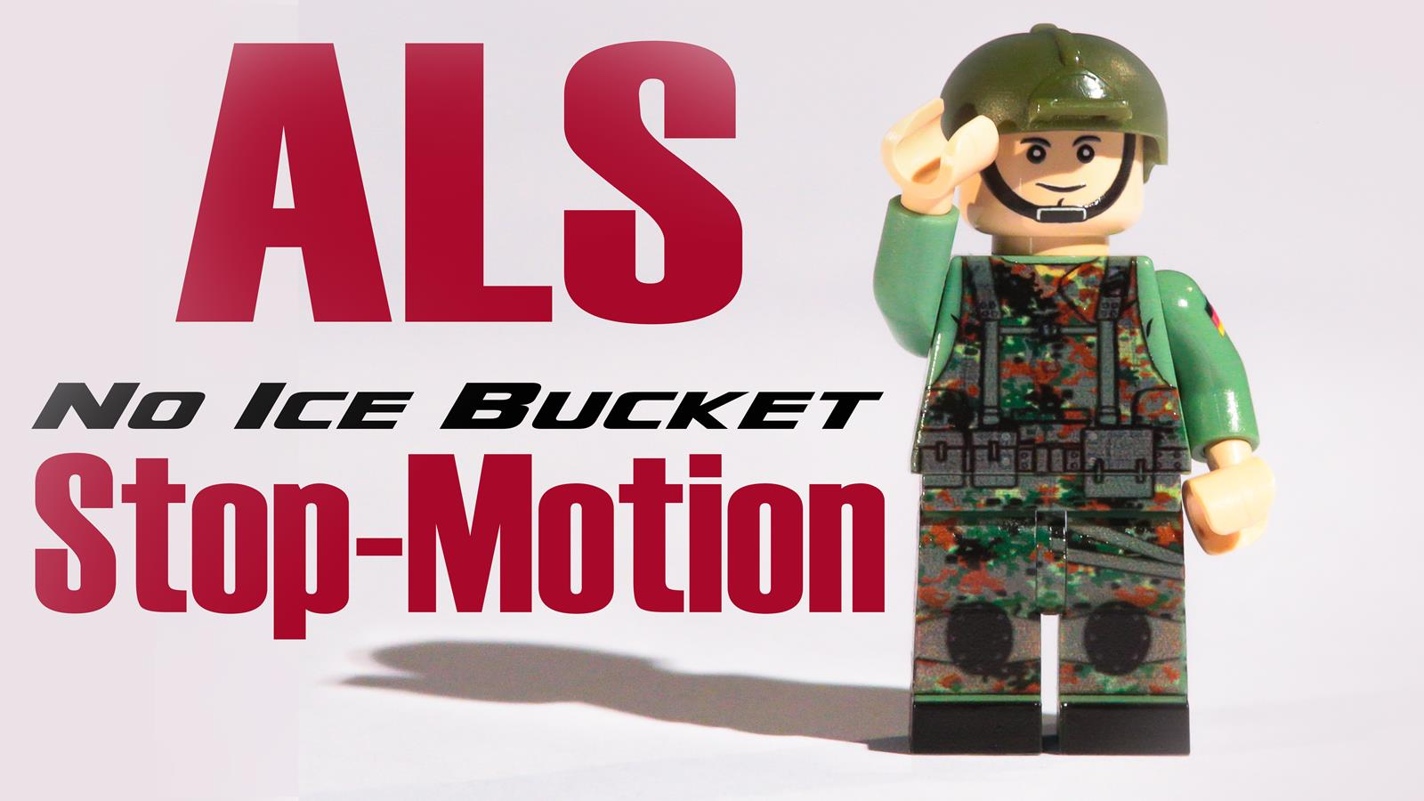 ALS Ice Bucket Challang Stop Motion