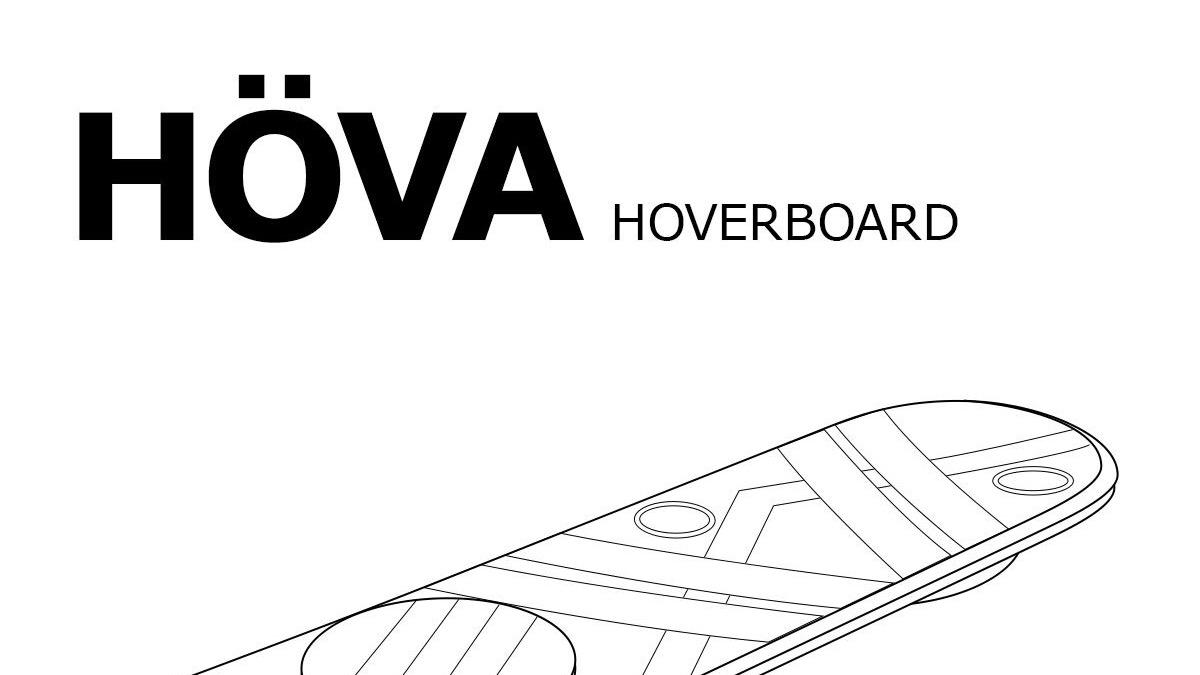 Gerade noch rechtzeitig: IKEA und das HÖVA Hoverboard