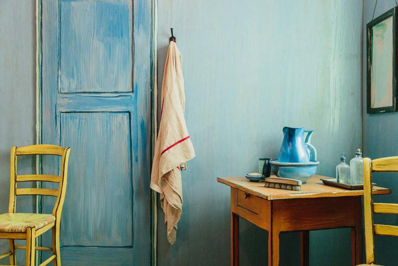 Vincents Schlafzimmer in Arles als Zimmer bei Airbnb – Tyrosize