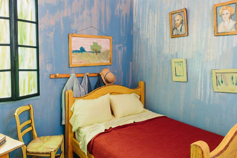 Schlafzimmer In Arles : Schlafzimmer In Arles  Vincents Schlafzimmer in Arles als Zimmer bei