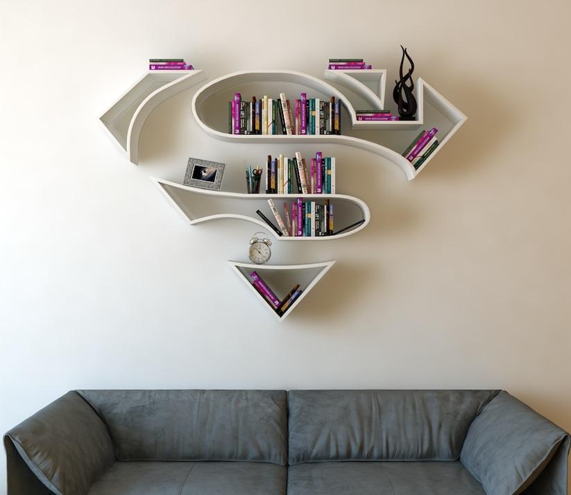 Bücher Regale bücherregale im superhelden look tyrosize
