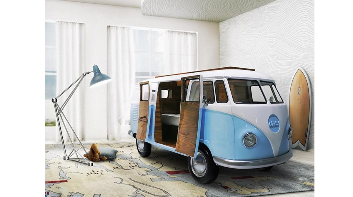 'BUN VAN' by CIRCU – Ein abgefahrenes Bett fürs Schlafzimmer