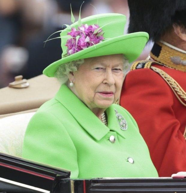 Warum die Queen besser kein grünes Outfit tragen sollte