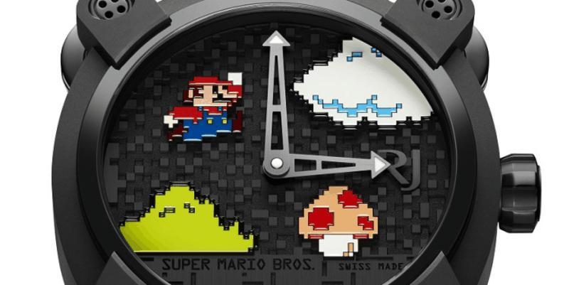 Mario-Luxusuhr für schlanke 18.000 Euro