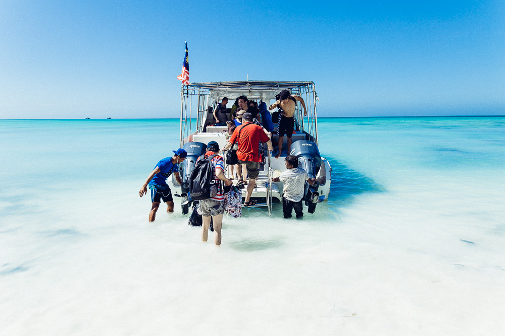 Reisebericht Pulau Mengalum: Ein Traum in Weiß