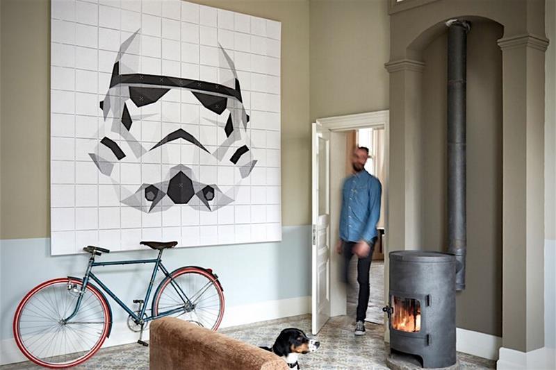 Eine ausgefallene Star-Wars-Posterserie