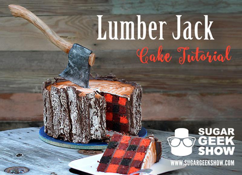 lumberjack torte f r echte m nner tyrosize. Black Bedroom Furniture Sets. Home Design Ideas