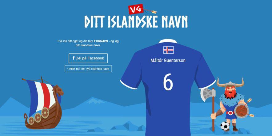 Wie lautet Dein isländischer Name?