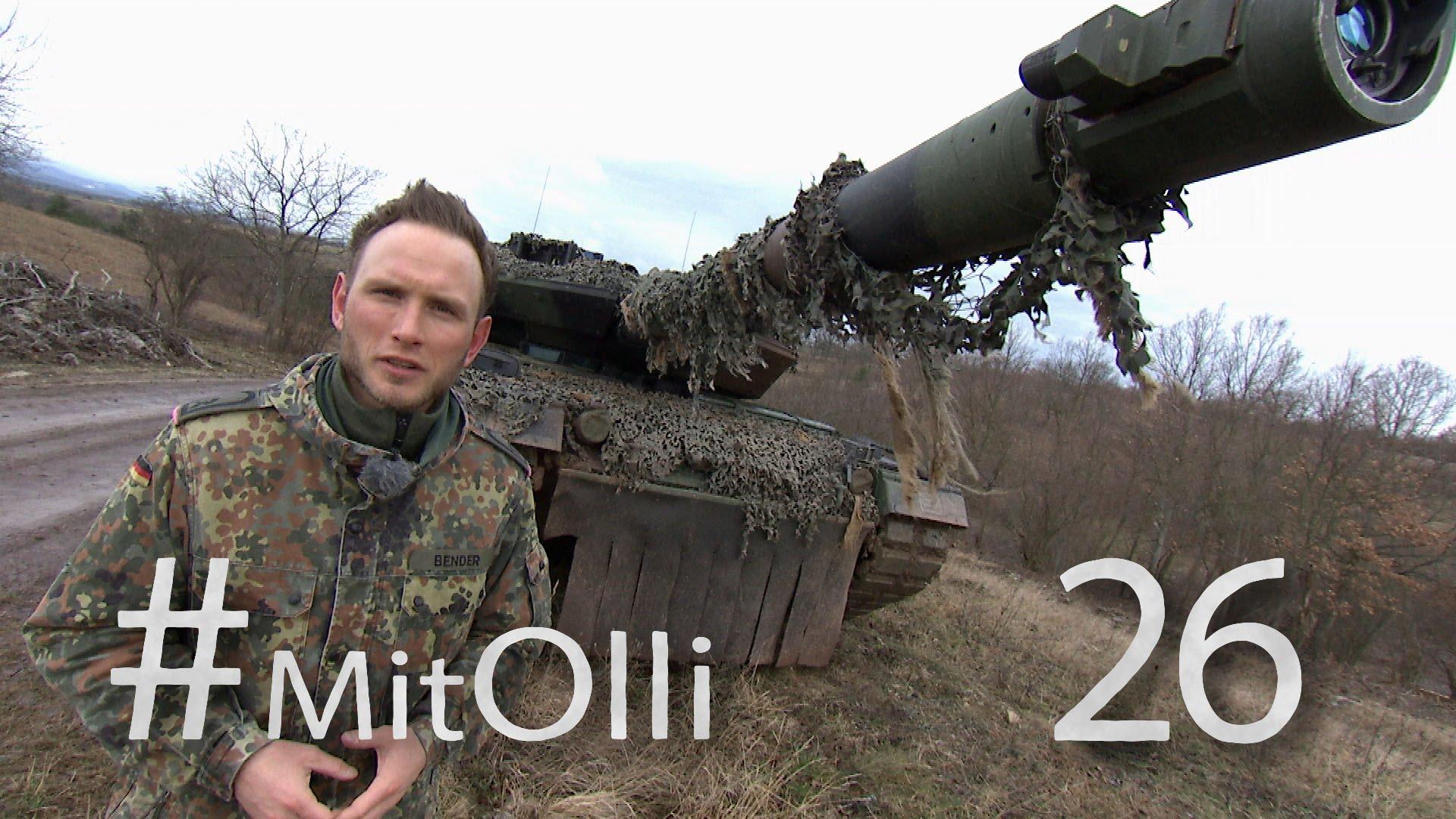 Mit Olli bei der Panzertruppe Teil 2