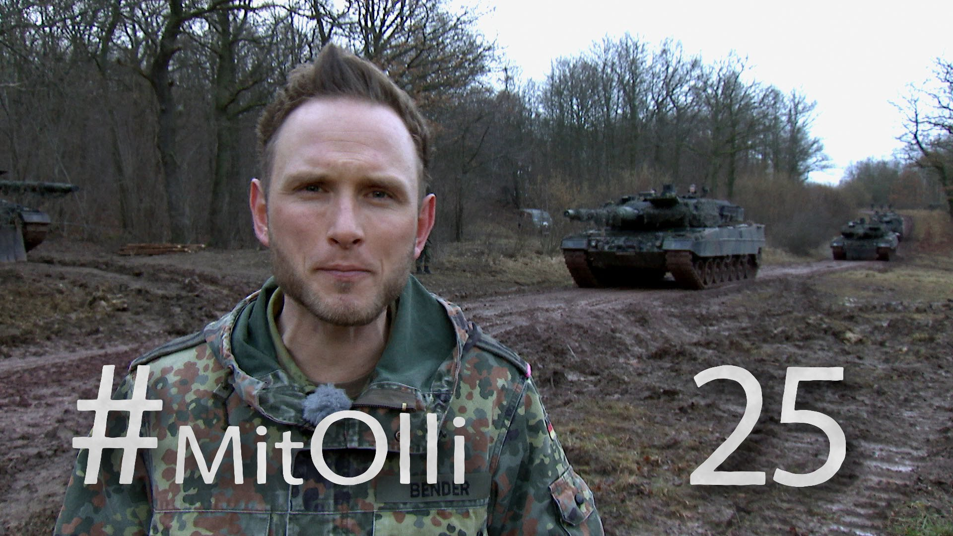 Mit Olli bei der Panzertruppe