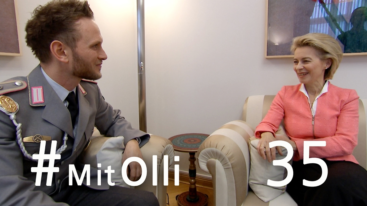 Mit Olli im BMVg: Einen Tag mit Ursula von der Leyen