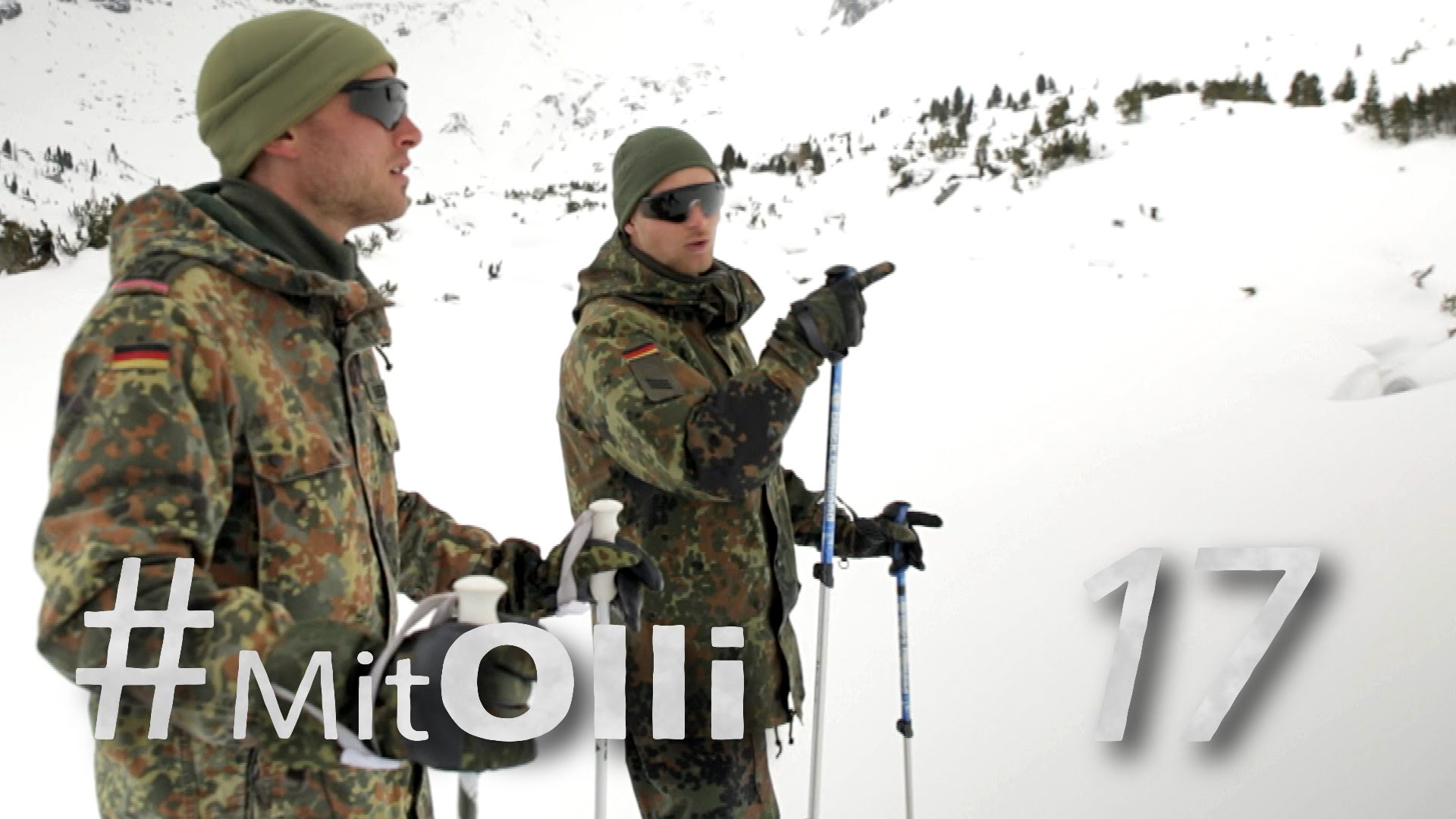 Mit Olli im Hochgebirge Teil 1: Fortbewegen im Schnee