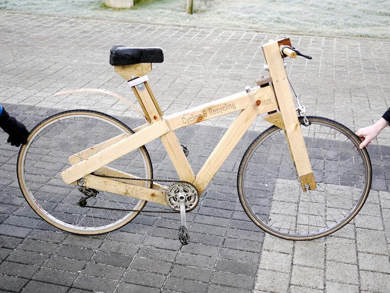 ein fahrrad aus holz und anderen fundsachen selber bauen tyrosize. Black Bedroom Furniture Sets. Home Design Ideas
