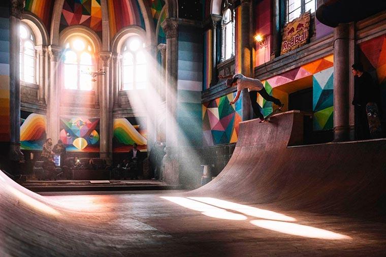 Eine Kirche stilvoll pimpen