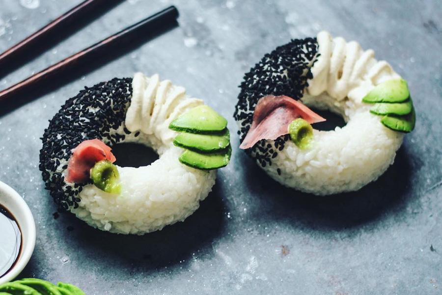 Sushi-Donuts: Die Fusion zweier Giganten