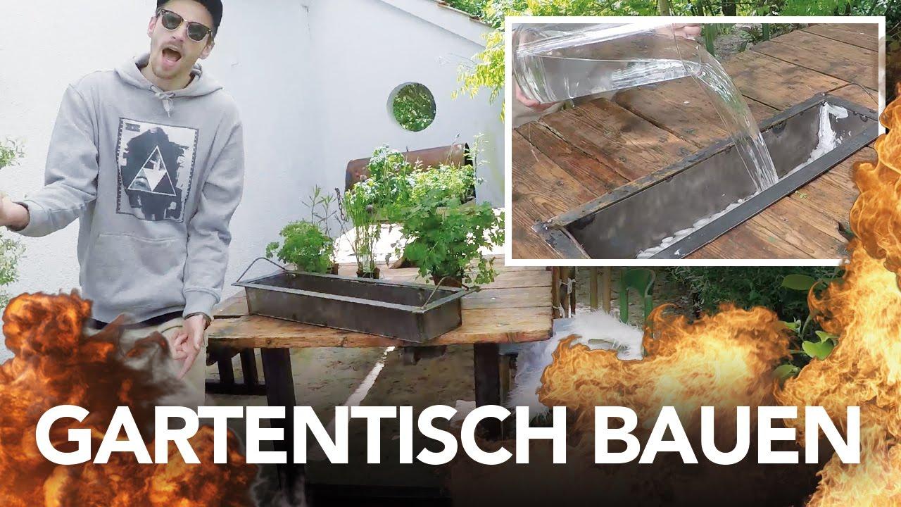 Wie man sich eigene Gartenmöbel bastelt – Kliemann Style